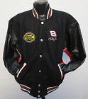 BUDWEISER KING OF BEER LEATHER REVERSIBLE JACKET CHASE AUTHENTICS NASCAR RACING