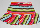 GYMBOREE Girl's Winter Cheer Striped Fleece Skirt Sizes 4, 5, 6, 8, 9, 10