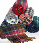 Winter Neck Scarf Brushed Lambswool A to C Scottish Plaid