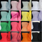 Cotton lycra 4 way stretch jersey stretch fabric material Q35