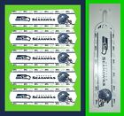 """NFL SEATTLE SEAHAWKS TEAM LOGOS CEILING FAN REPLACEMENTS BLADES 52""""-5 BLADES"""