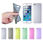 Ultra Thin Slim Transparent Soft TPU Case Skin Cover For iPhone 6 4.7""