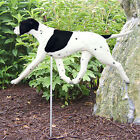 English Pointer Dog Figure Yard Garden Stake Home Yard  Garden Dog Products