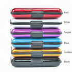 Aluminum Metal Waterproof Box Case Business ID Credit Card Holder Wallet Holder