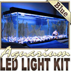 Blue Aquarium Tank Coral LED Backlight Night Light On / Off Switch Control Kit