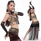 Belly Dance Costumes Tribal Professional Outfit Set 6 colors