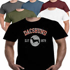 Dachshund Dog Cat Breed T shirt S-3XL Clothes Pet Animal Toy Collar Coat Bed