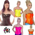 BASQUE CORSET 80's FANCY DRESS  BURLESQUE TUTU