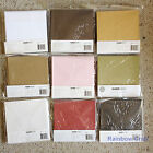 Kaisercraft 10 blank Cards & Envelopes Square / C6 size (23 selections)