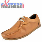 Base London Mens Cooper Leather Moccasin Casual Dress Shoes Tan *AUTHENTIC*
