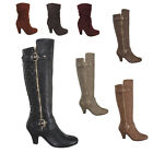 NEW Womens High Heel Platform Bootie Oxford Ankle Boots Wedge Shoes Fashion Size