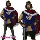 Adult Mens Noble King Medieval Halloween Snow White Prince Charming Costume