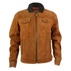 Mens Schott LC3103 Tobacco Leather Jacket
