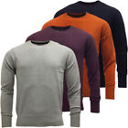 Mens Knitted Jumper Long Sleeve Winter Knitwear Top