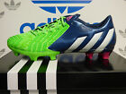 NEW ADIDAS Predator Instinct FG Men's Soccer Cleats - Green/Navy:  M17644