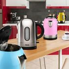 Design 2400 Watt Kettle electric water heater wireless Yellow Blue Pink Silver