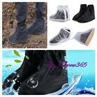 Male Waterproof Rain Shoes Cover Men Rain Gear Rain Boots Flat Overshoes New -Z