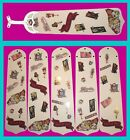 MONSTER HIGH ASSORTED FIGURINES & LOGOS CEILING FAN REPLACEMENTS BLADES-5 BLADES