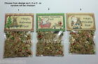 Magic Reindeer Food Christmas Bling Santa Rudolph Dust -Three Designs to Choose