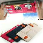 Car Sun Visor Point Pocket Documents Organizer Pouch Hanging Bag CD Card Holder