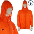 Waterproof Lightweight Hooded Jacket Rain Coat Outdoor Walking Workwear Rainsuit