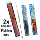 Compact Emergency Starter Survival Fishing Line Kit Floats Boat Bushcraft Kids
