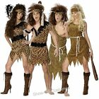 CAVEMAN CAVEWOMAN MENS LADIES FANCY DRESS COSTUME SIZE S-XL