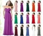 New Prom Bridesmaid Party Chiffon Evening Dresses Formal Cocktail Size 6-26