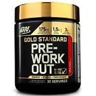Optimum Nutrition GOLD STANDARD PRE-WORKOUT 30 Servings CHOOSE FLAVOR