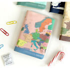 Travel Organizer Passport Case Protect Cover Holder, World Map by Indigo