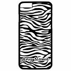 PERSONALISED ZEBRA PRINT iPHONE 6 + PLUS HARD CASE/COVER
