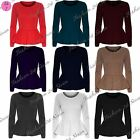 New Womens Ladies Plain Full Sleeves Flared Frankie Peplum Frill Mini Dress Top
