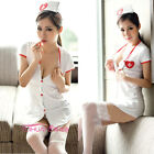 Sexy Lingerie Set Nurse Halloween Costume Doctor Cosplay Outfit Dress S M L