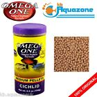 OMEGA ONE * SMALL 184G OR LARGE 85G   PELLETS CICHLID FLOATING  PREMIUM FOOD *