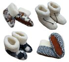 COZY FOOT Slippers Ladies Pure Sheep Wool Sheepskin Boots size 3,4,5,6,7,8