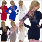 Sexy Women's Jumper Dress Ladies Sweater Casual Pullover One Size 8,10,12,14 UK