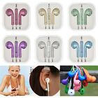 3.5mm Glitter Answer Music In-ear Earphones Headsets for iPhone 5 5S iPod Touch