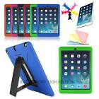 For iPad Air 5 1st Armor WaterProof ShockProof Military Hard Stand Rugged Case