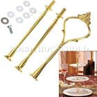 1/5/10 Set 2 or 3 Tier Cake Plate Stand Cupcake Fittings Wedding Party Decor