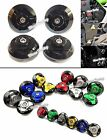 Frame Hole Cap Cover Plug Low Up Fit KAWASAKI Ninja 250 300 250R 300R Z250 Z300
