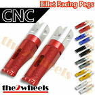Billet CNC Racing Front / Rear Pegs Foot Rests for Yamaha YZF R6 2003-2012