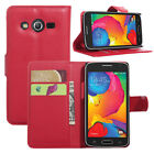 Stand Wallet Leather Case Flip Cover (9Colors) For Samsung Galaxy AVANT G386T #i
