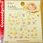 Color Printing Water Tranfer Nail Art Stickers Gift Butterfly Flower Style 6-33