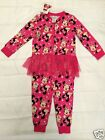 New Disney Baby Minnie Mouse nightwear pyjamas loungewear all in one onesie tutu