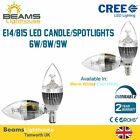 B15 Small Bayonet Cap/E14 Small Edison Screw LED Candle Light Spotlight Bulb
