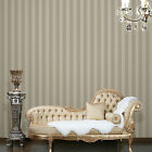 Striped Stripe Pattern Print Wallpaper Wall Paper Rolls Feature Wall Damask Roll