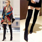 Sexy Womens Lady High Stilettos Heel Over The Knee Thigh High Leg Knee Boots Hot