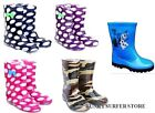 CHILDRENS WELLIES BOYS GIRLS WELLINGTON BOOTS KIDS TODDLER WELLIES SNOW BOOT