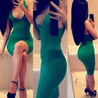 New Sexy Women Bandage Sleeveless Slim Fit Cocktail Party Clubwear Dress