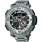 Casio Pro-Trek PRG-280D-7ER Thermometer Digital-Compass 100mwr Watch RRP �275.00